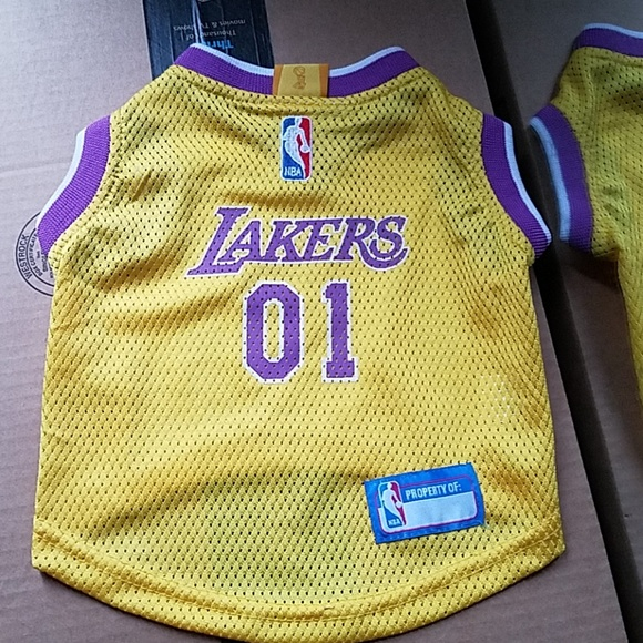 NBA Los Angeles Lakers Dog Jersey
